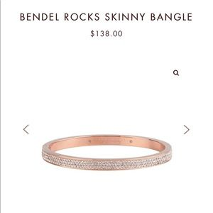 Henri Bendel Rocks Skinny Bangle